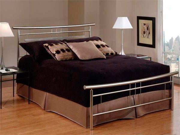 Кровать из нержавеющей стали