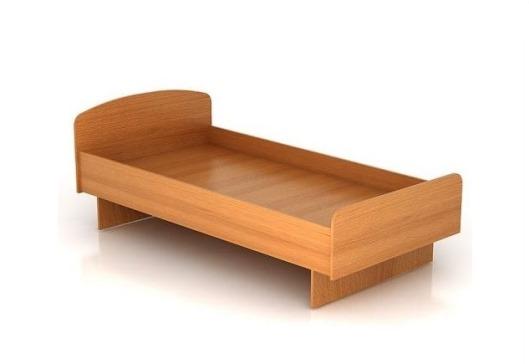 Кровать на основе ЛДСП