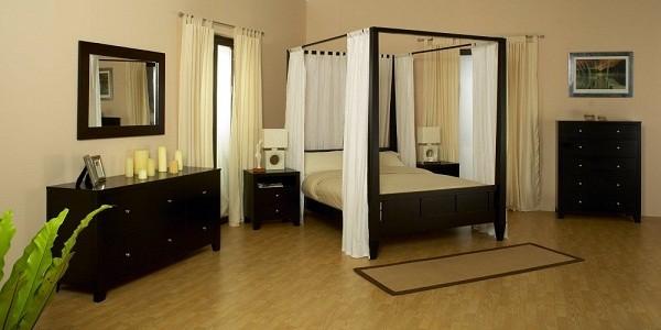 Кровать с балдахином для спальни