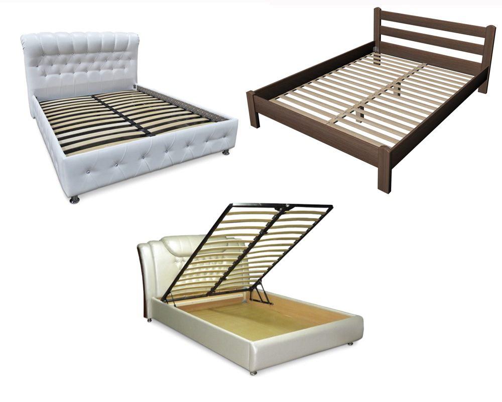Кровати с ламельным основанием