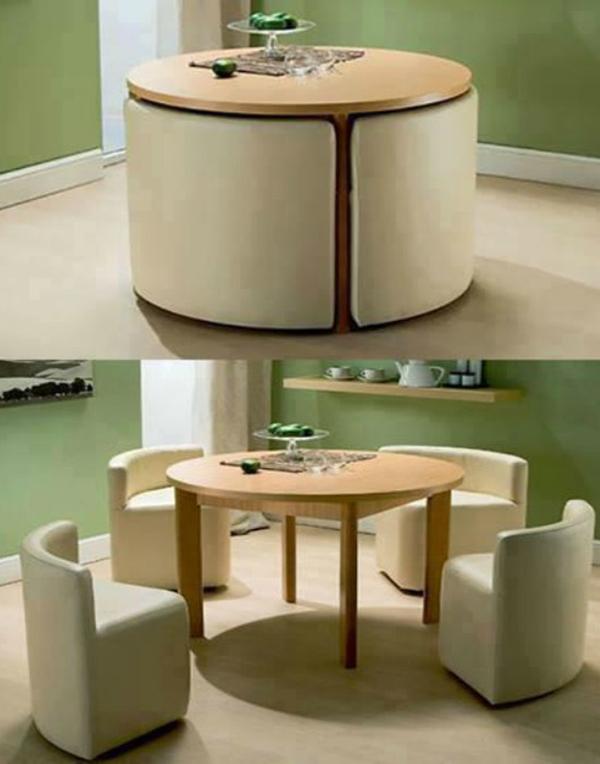 Круглая мебель-трансформер