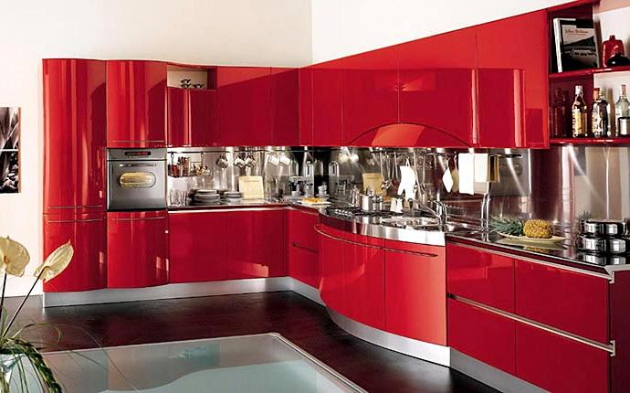 Кухонная модная мебель