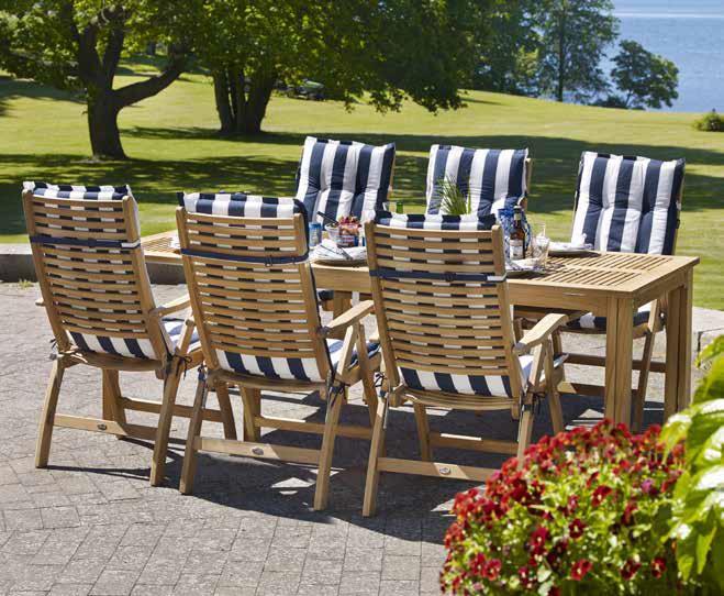 Легкие стулья на основе тика