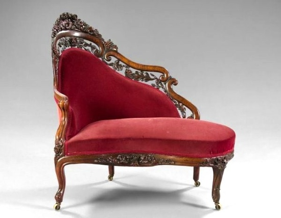 Лежанка в стиле рококо
