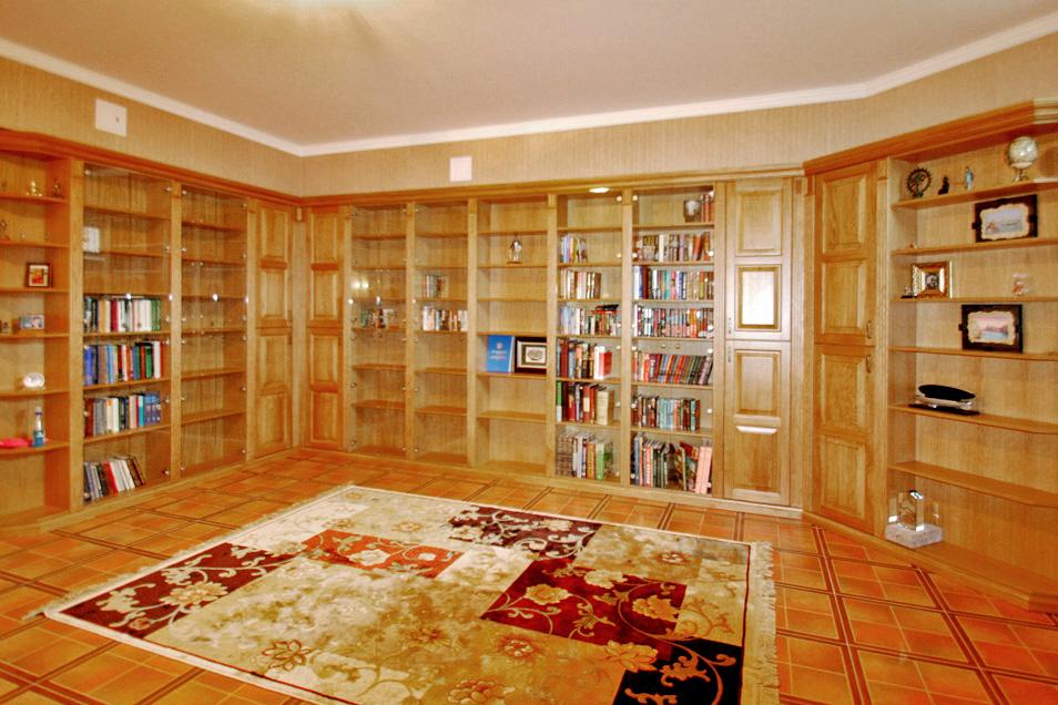 МДФ мебель для библиотеки