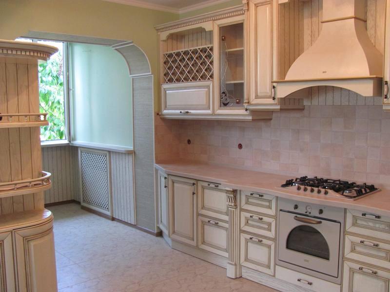 Массив дерева для изготовления кухонной мебели