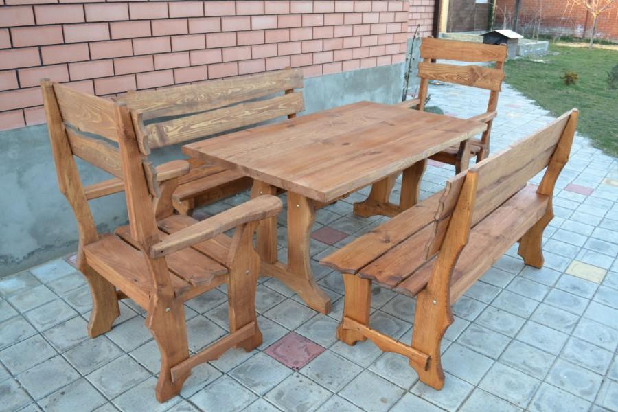 Массив дерева для изготовления мебели