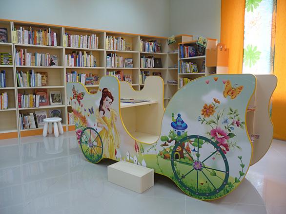 Мебель для библиотек детская