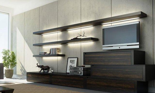 Мебель для гостиной комнаты из натурального дерева