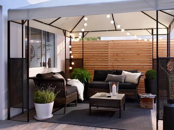 Мебель для террасы в частном доме