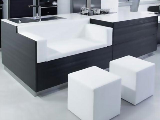 Мебель геометрически правильных форм