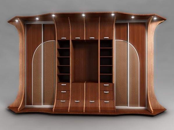Мебель из ДСП с подсветкой