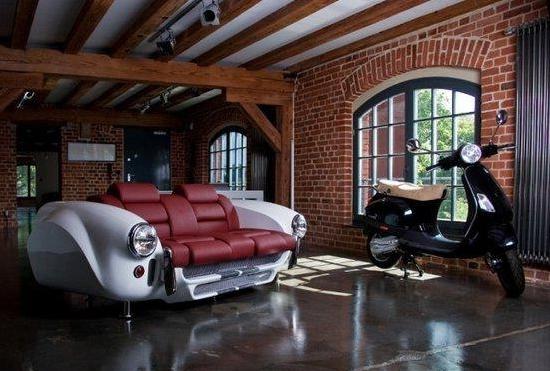 Мебель из авто для автолюбителей