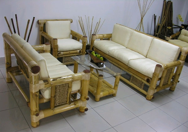Мебель из бамбука - совершенство естественности