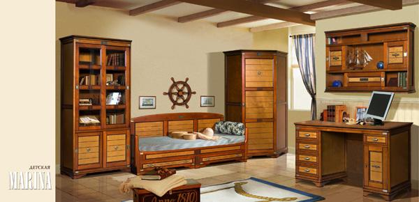 Мебель из березы для детской комнаты