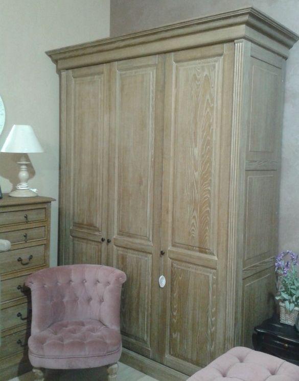 Мебель из брашированного дуба