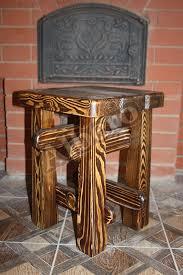 Мебель из сосны брашированная