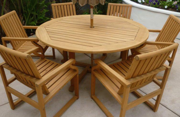 Мебель из тика отличается качеством