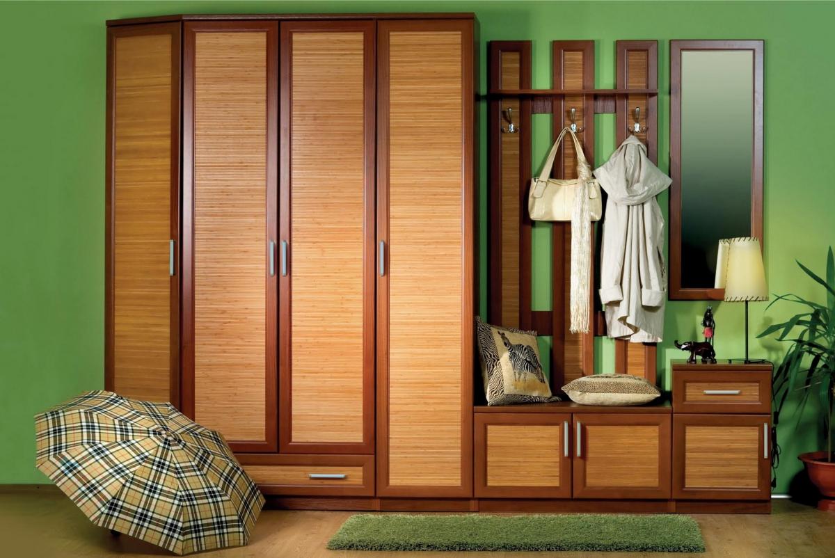 Мебель, изготовленная из бамбука долговечна
