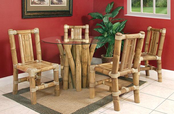 Мебель сделанная из бамбука
