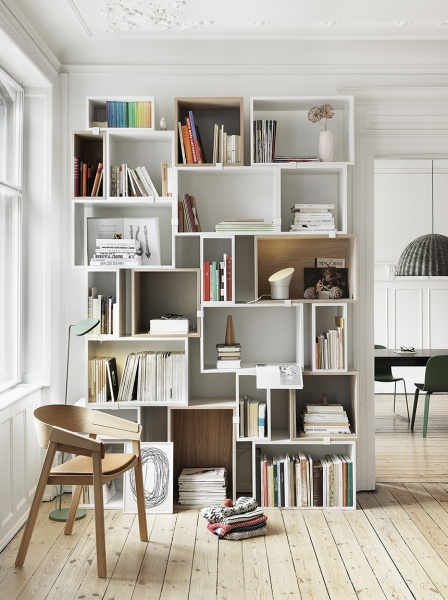Мебель скандинавского стиля выполняется из дерева