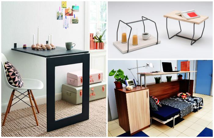 Мебель-трансформер - компактная и удобная