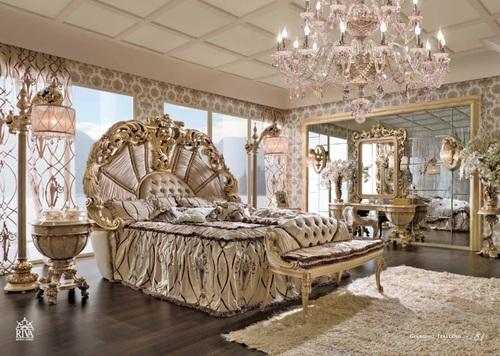 Мебель в стиле рококо сохраняет элегантность и богатство предыдущего периода