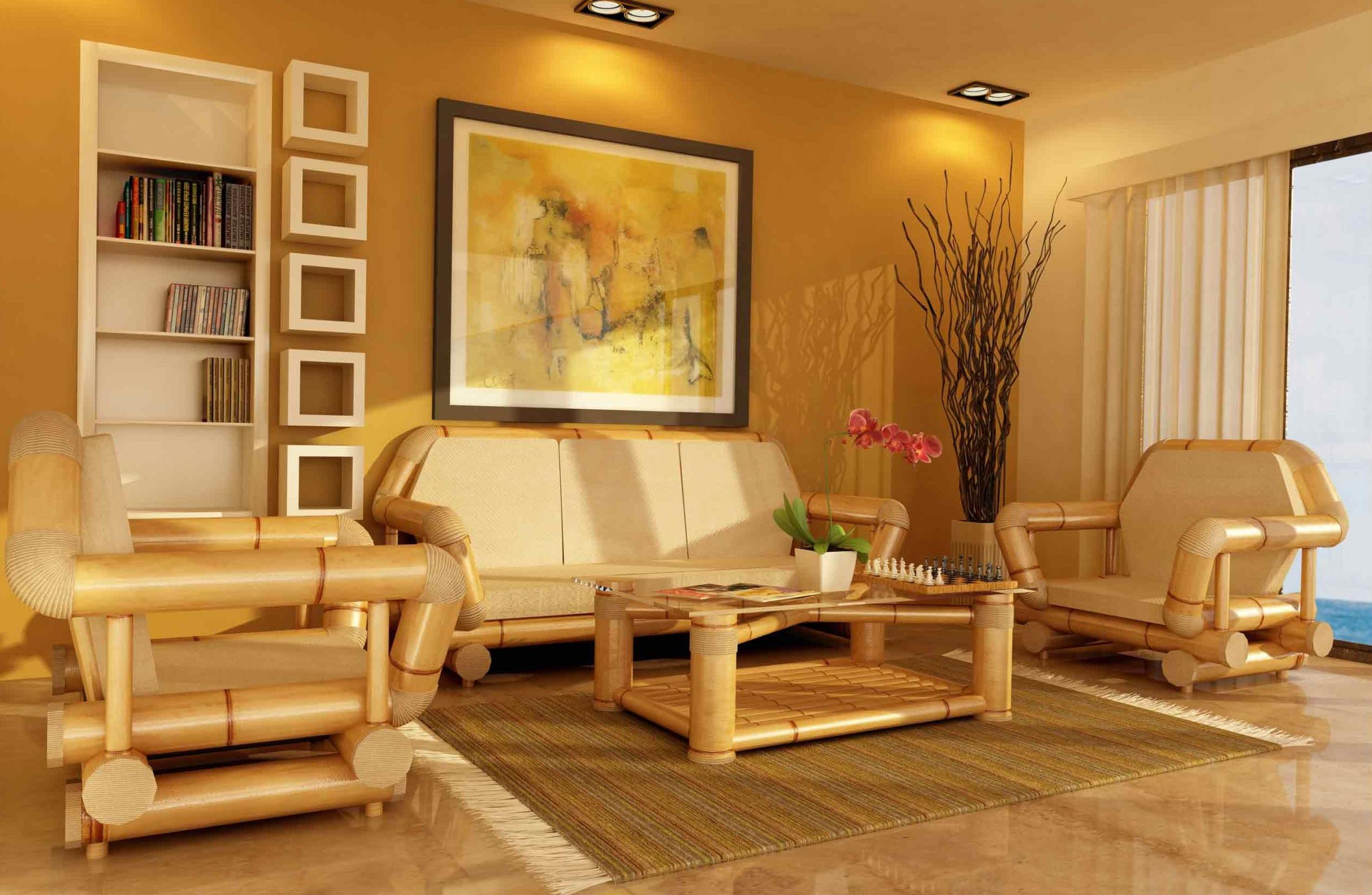 Мебель выполненная из бамбука