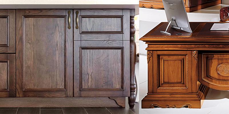 Мебельные фасады их натуральной древесины