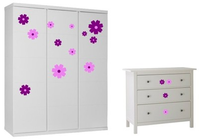 Мебельные наклейки цветок
