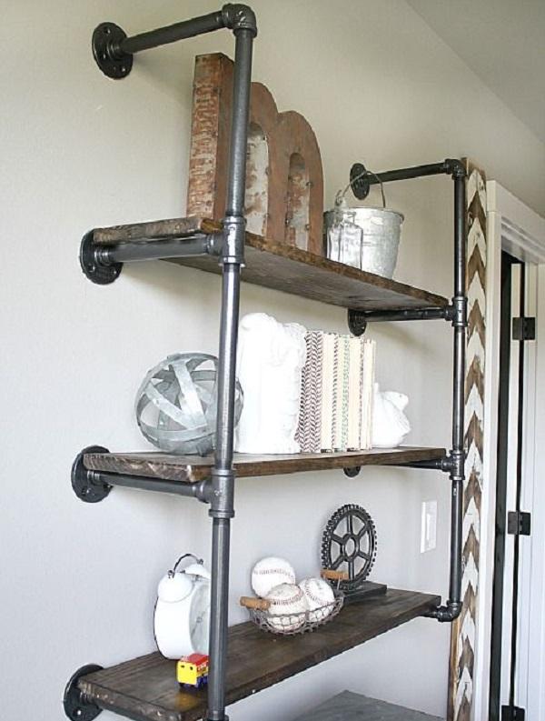 Мебельные трубы для полок