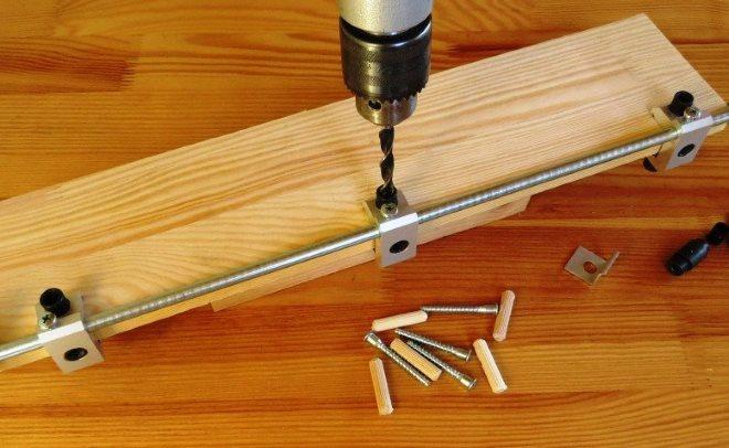 Мебельный кондуктор и его применение