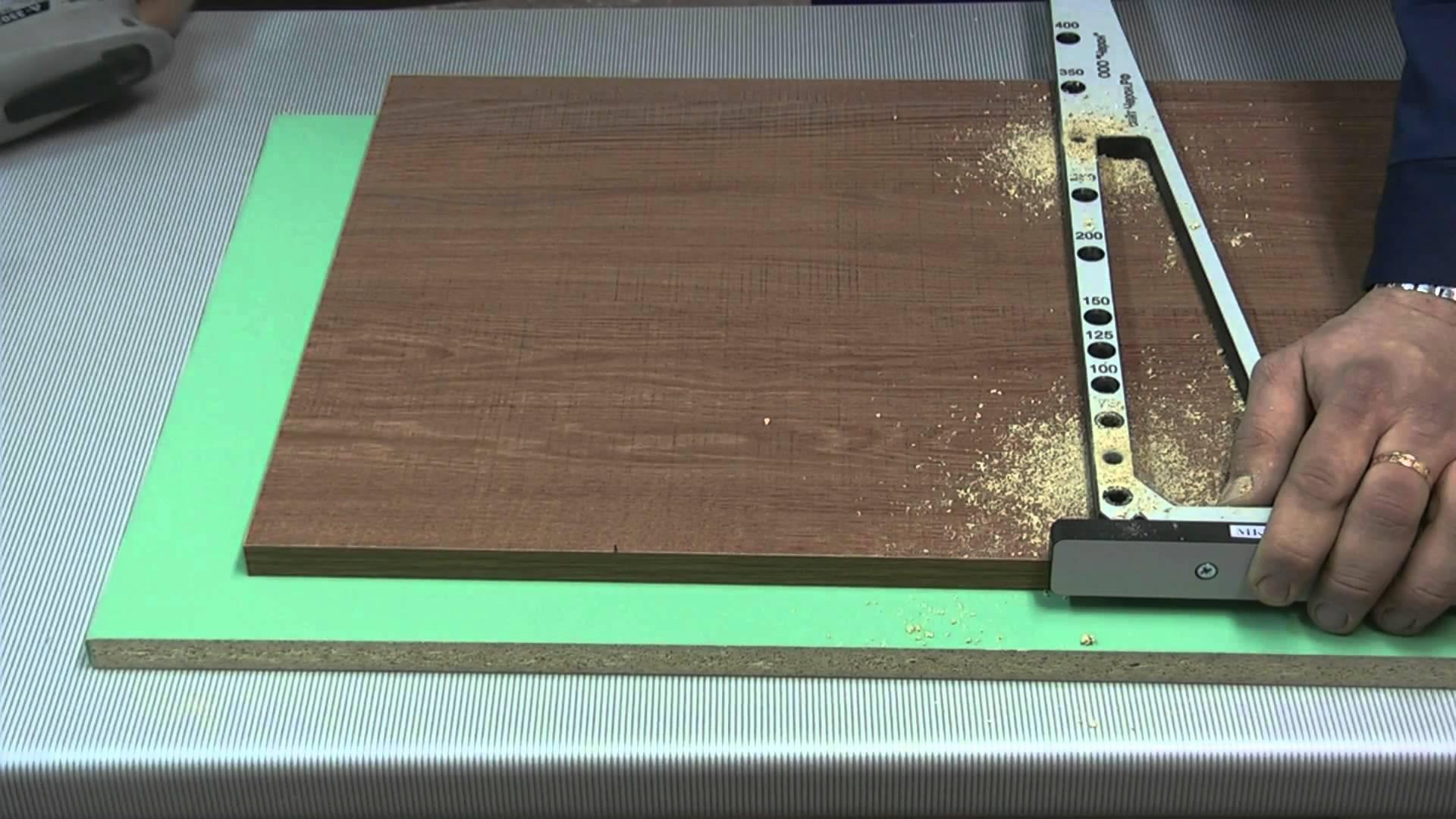 Мебельный кондуктор для сверления отверстий