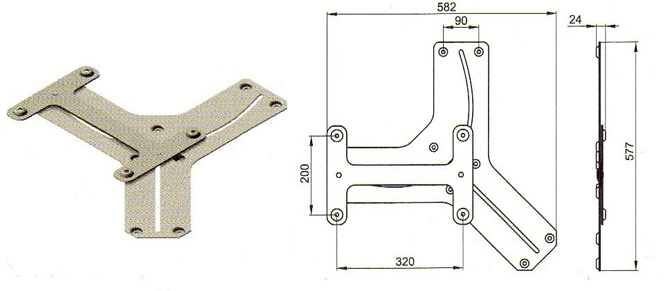 Механизм трансформации поворота сидения