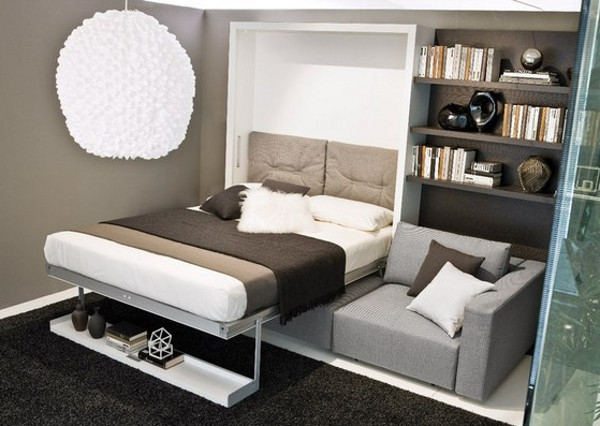 Многофункциональная мебель для небольшой спальни