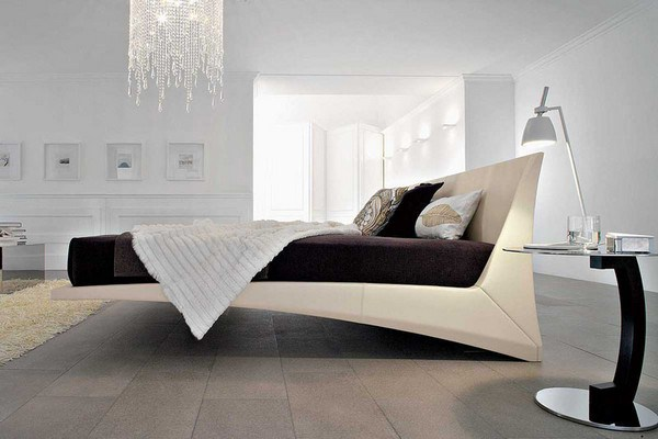 Модная кровать для спальни