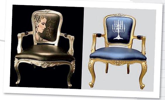 Модные кресла для гостиной