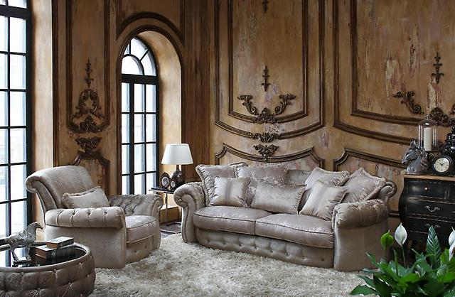 Мягкая изящная мебель