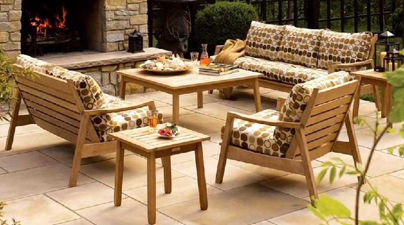 Мягкие предметы мебели для терассы