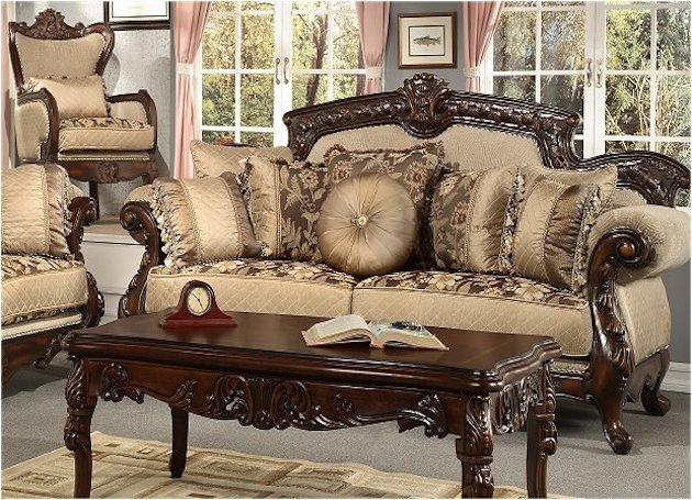 Мягкий роскошный диван