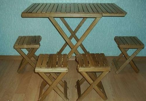 Набор складной мебели для пикника на улице