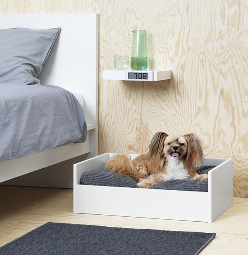 Небольшая кровать для маленькой собаки