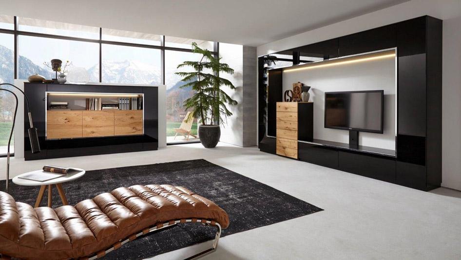Немецкая темная мебель