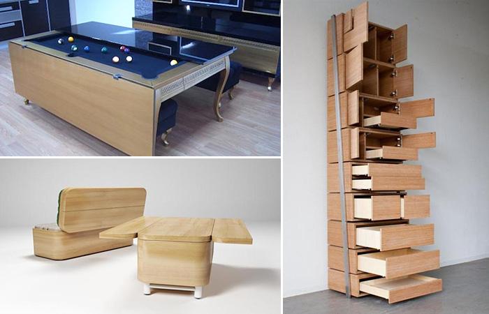 Необычная мебель от дизайнеров-гениев