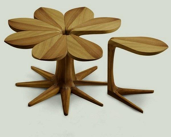 Необычный креативный столик