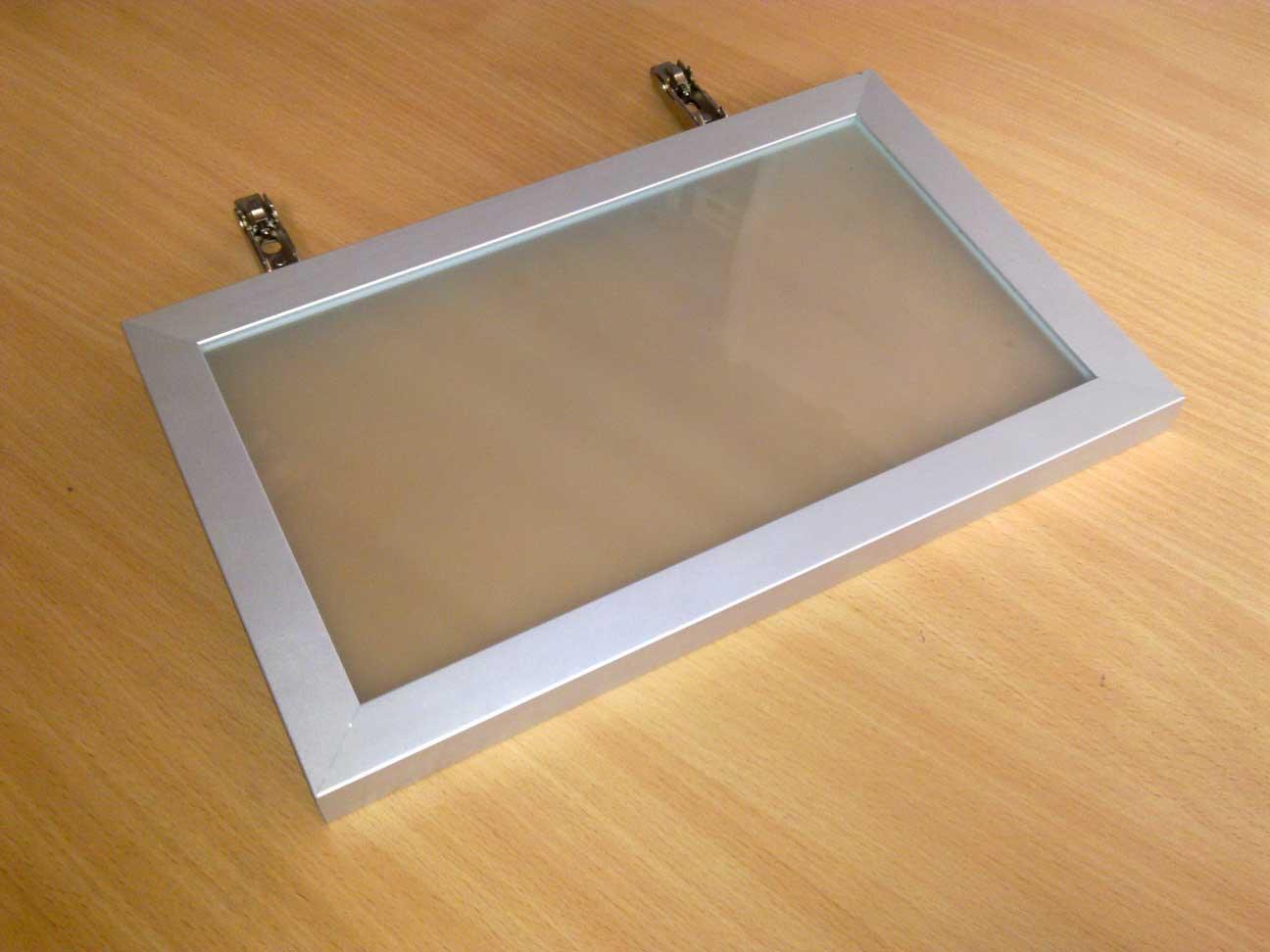 Об алюминиевом рамочном мебельном профиле