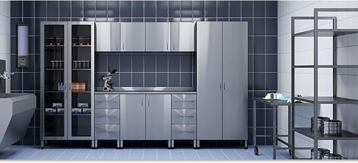 Оборудование и мебель из нержавеющей стали для лабораторий и медицинских учреждений