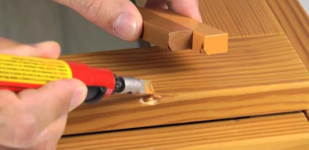 Обработка мебели воском