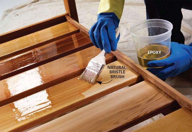 Обработка мебельных поверхностей