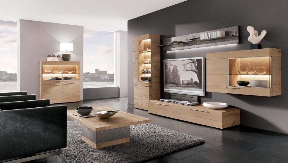 Обустройство гостиной качественной мебелью